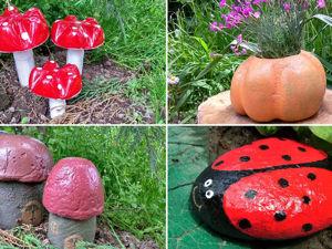 5 идей декора для сада своими руками. Ярмарка Мастеров - ручная работа, handmade.