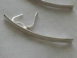 Скидка 15% на Серьги серебро  «Лунные дорожки». Ярмарка Мастеров - ручная работа, handmade.