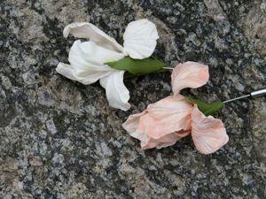 Мастер-класс по лепке цветов. Ирисы из глины в одно запекание. Ярмарка Мастеров - ручная работа, handmade.