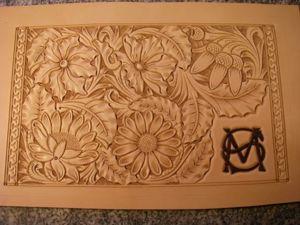 Покраска тиснения кожи. Ярмарка Мастеров - ручная работа, handmade.