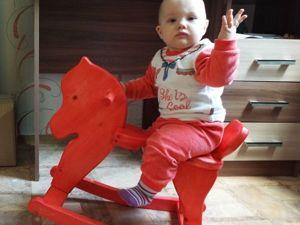 Лошадка-качалка своими руками: видеоурок. Ярмарка Мастеров - ручная работа, handmade.