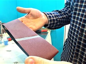 How to Glue Sandpaper of any Length. Livemaster - handmade