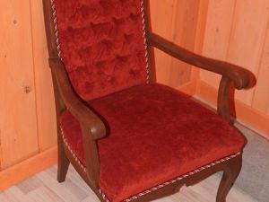 Вторая жизнь. Восстанавливаем старое кресло. Ярмарка Мастеров - ручная работа, handmade.
