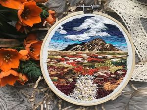 Blooming World of Embroidery by Northwise. Livemaster - handmade