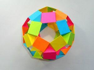 Собираем футбольный мяч из бумаги. Ярмарка Мастеров - ручная работа, handmade.