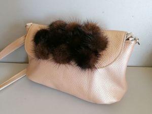 Аукцион на сумочки с мехом. Ярмарка Мастеров - ручная работа, handmade.