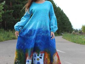 Видео платья  «Счастливая Осень». Ярмарка Мастеров - ручная работа, handmade.