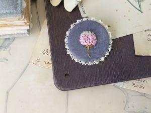 Как я делаю обрамление из кружева для брошей (запись эфира). Ярмарка Мастеров - ручная работа, handmade.