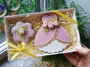 Пряничный набор  «Для принцессы». Ярмарка Мастеров - ручная работа, handmade.