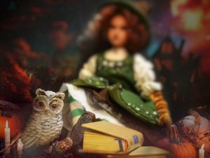 Кукла лесная ведьма. Ярмарка Мастеров - ручная работа, handmade.