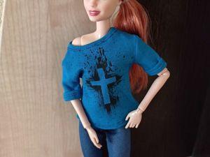 Три способа перевода изображения на ткань / шьем для кукол. Ярмарка Мастеров - ручная работа, handmade.