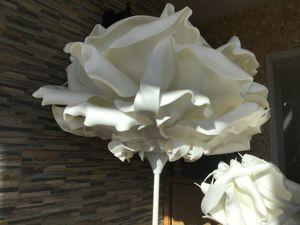Белый светильник. Ярмарка Мастеров - ручная работа, handmade.