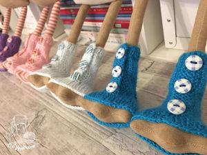 Вяжем одежду для тильды-гуся. Часть первая — носочки и шапочка. Ярмарка Мастеров - ручная работа, handmade.