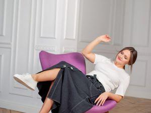 Новинка! Комплект Бомбер — юбка — футболка. Ярмарка Мастеров - ручная работа, handmade.