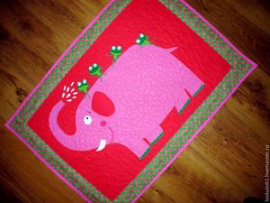 Купание красного слона:) — и другой пэчворк на заказ!. Ярмарка Мастеров - ручная работа, handmade.