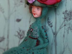 Авторская кукла-цветок ручной работы. Ярмарка Мастеров - ручная работа, handmade.