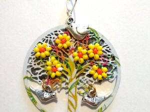 Цветут деревья. Ярмарка Мастеров - ручная работа, handmade.