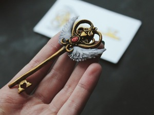 Создаем «крылатый» ключик от сердца. Ярмарка Мастеров - ручная работа, handmade.