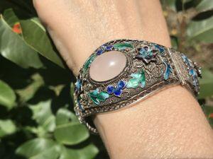 Антикварный браслет из серебра. Ярмарка Мастеров - ручная работа, handmade.
