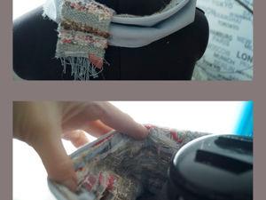 Мой вариант декоративной техники crazy wool. Ярмарка Мастеров - ручная работа, handmade.