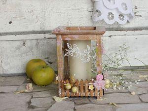 """Делаем подсвечник """"Белый налив"""" для свадебного декора. Ярмарка Мастеров - ручная работа, handmade."""