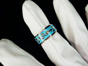 Серебряное кольцо в наличии. Ярмарка Мастеров - ручная работа, handmade.