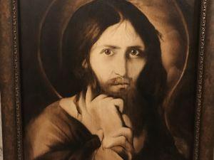Эксклюзив! Редкая вещь! Иисус...в нашем сердце. Ярмарка Мастеров - ручная работа, handmade.