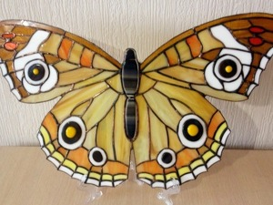 Изготовление бабочки в технике Тиффани. Ярмарка Мастеров - ручная работа, handmade.