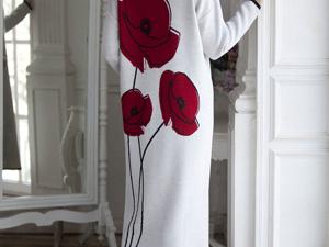 Аукцион на Яркое платье- оверсайз! Старт 3000 руб.!. Ярмарка Мастеров - ручная работа, handmade.