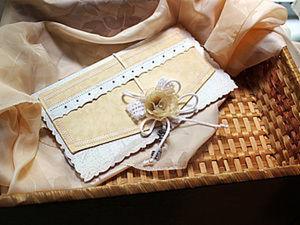 Подарочный конверт своими руками. Ярмарка Мастеров - ручная работа, handmade.