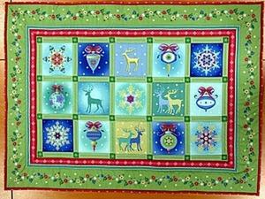 Шьем новогодний коврик. Ярмарка Мастеров - ручная работа, handmade.