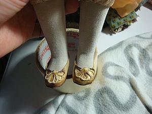 Как просто сделать туфельки для куклы. Ярмарка Мастеров - ручная работа, handmade.