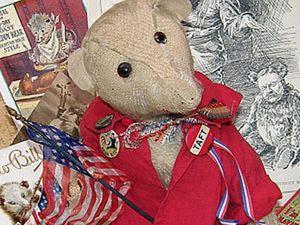 Как мишка Тедди победил своего конкурента. Ярмарка Мастеров - ручная работа, handmade.
