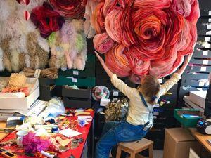 Потрясающие бумажные цветы датской художницы Marianne Eriksen-Scott Hansen. Ярмарка Мастеров - ручная работа, handmade.