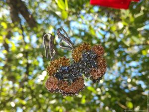 Серьги  «rOyal Flower»  с танзанитами. Ярмарка Мастеров - ручная работа, handmade.