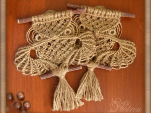 Плетём «Сову» в технике макраме. Часть 3.. Ярмарка Мастеров - ручная работа, handmade.