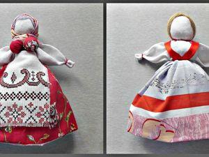 Мастерим народную тряпичную куклу Девка-Баба. Ярмарка Мастеров - ручная работа, handmade.