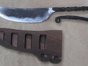 Куем «белевский нож». Ярмарка Мастеров - ручная работа, handmade.