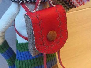Шьем рюкзачок для куклы или игрушки. Ярмарка Мастеров - ручная работа, handmade.