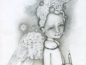 Новые картины с ангелами. Ярмарка Мастеров - ручная работа, handmade.