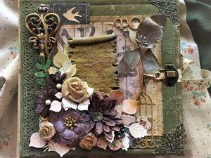 Новая работа Винтажный альбом  «И это всё о ней...». Ярмарка Мастеров - ручная работа, handmade.