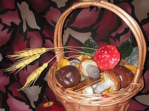 Лепим грибы в технике папье-маше. Ярмарка Мастеров - ручная работа, handmade.