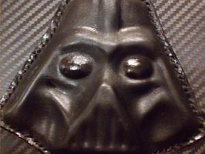 """Делаем Дарта Вейдера в технике """"давленка по коже"""". Ярмарка Мастеров - ручная работа, handmade."""