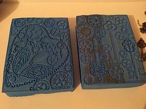 Создаем оригинальные фоновые штампы. Ярмарка Мастеров - ручная работа, handmade.