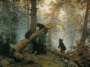«Утро в сосновом лесу». Ярмарка Мастеров - ручная работа, handmade.