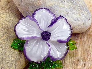 Выплавляем цветок из стекла. Мастер-класс. Ярмарка Мастеров - ручная работа, handmade.