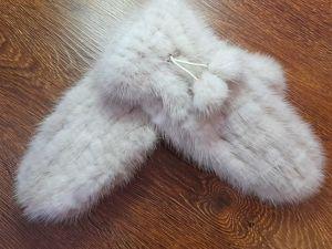 Новая коллекция меховых рукавичек. Ярмарка Мастеров - ручная работа, handmade.