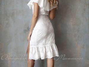 Видео-ролик, костюм  «Белые ромашки». Ярмарка Мастеров - ручная работа, handmade.