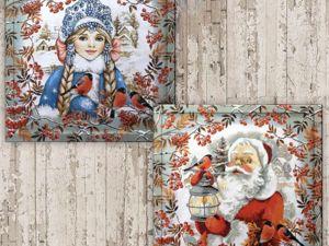 Запасемся Морозами и Снегурками для творчества на будущий год. Ярмарка Мастеров - ручная работа, handmade.