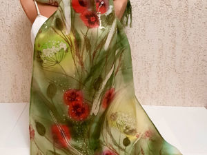 Не замерзай! Коллекция теплых шарфов и платков с авторской росписью. Ярмарка Мастеров - ручная работа, handmade.